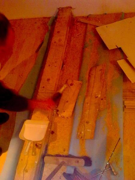 Obložení starého trámu: img00052-jpg
