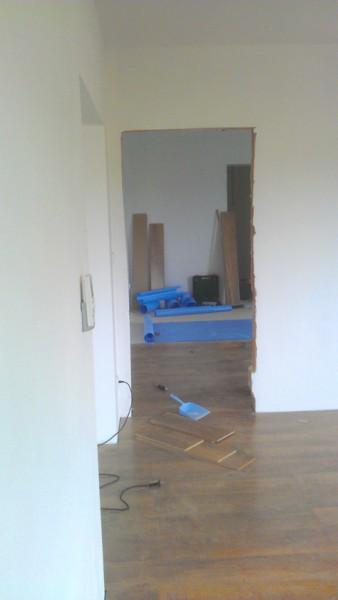 Pokládka plovoucí podlahy v domě: img00096-jpg