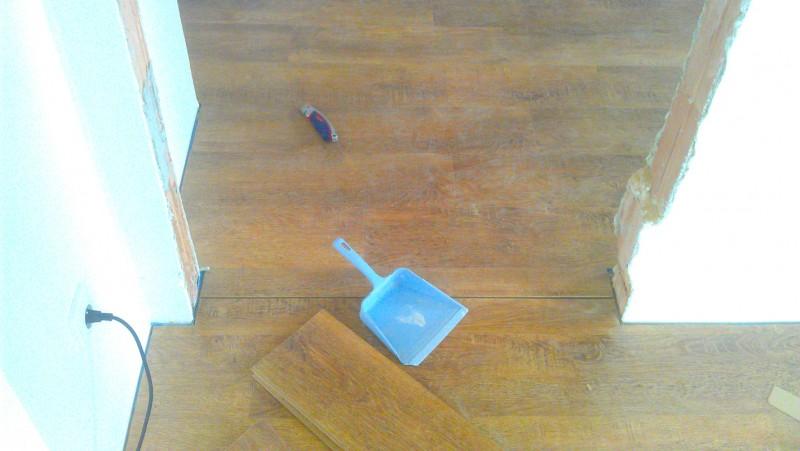 Pokládka plovoucí podlahy v domě: img00098-jpg