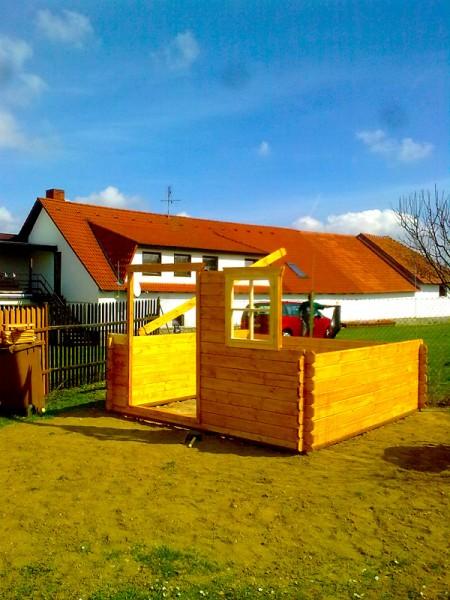 Sestavení zahradního domku s přístřeškem: img00132-jpg