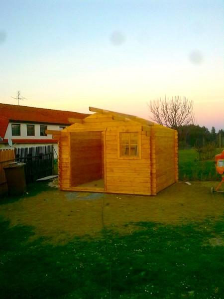 Sestavení zahradního domku s přístřeškem: img00135-jpg