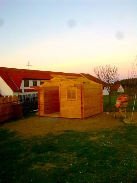 Sestavení zahradního domku s přístřeškem: img00136-jpg