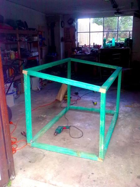 Výroba boudy pro psa: img00154-jpg