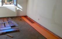Hodinový manžel Praha: Pokládka plovoucí podlahy na parkety