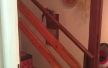 Hodinový manžel Praha: Oddělení (zateplení) schodiště